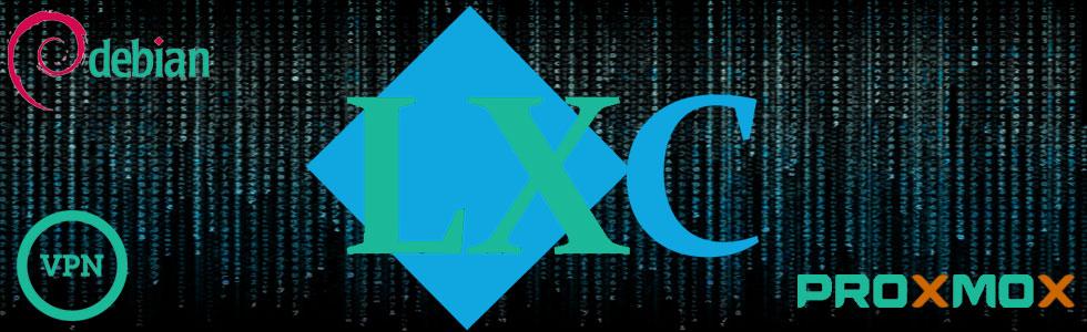 Proxmox 4  auf Debian und Tun Tap für OpenVPN bei LXC Containern